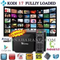 Jual [Rooted- Kodi Custom] UHD 64 bit TV Box Android 6 Marshmallow 1G/8G Murah