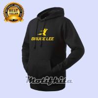 Hoodie Jaket BRUCE LEE Sweater warung kaos