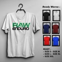 Kaos/Tshirt Raw Enduro Murah Keren