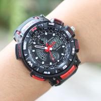 Jam Tangan Sporty Style Keren Pria Digitec Dualtime/Like G-Shock Cool