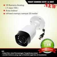 Paket Kamera CCTV Dahua 16 Unit Area Outdoor Surabaya