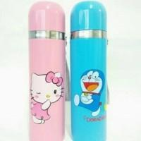 Termos Karakter Stainless Doraemon Hello Kitty Botol Minum 500ml B45