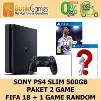 Sony PS4 Slim Playstation 4 Slim 500GB CUH-2006A + 2 Game