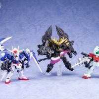 Mobile Suit Gundam MOBILE SUIT ENSEMBLE 02 (ALL 5/SET) OO Banshe GM