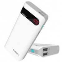 Jual Romoss Sense 4P Power Bank 10400mAh with LCD Display  OEM  White Murah