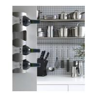 IKEA VURM 4-Bottle Wine Rack, Rak untuk 4 botol anggur, Murah