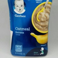 Gerber Cereal Oatmeal Banana / Banana-Apple