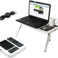 Meja Laptop Anti Panas Portable Multifungsi murah berkualitas terbaik
