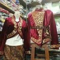Dodotan & Rompi baju pengantin Adat Jawa