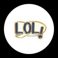 LOL enamel pin badge bros hijab patch lapel pair pins brooch button