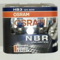 Lampu Mobil Osram Night Breaker Unlimited (NBR) HB3 60w Original