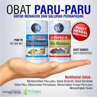 Obat Paru-paru Herbal | 4 Pipeca + 4 Detopar