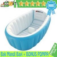 Jual Paket Intime Baby Bath Tub / Bak Mandi Bayi + BONUS POMPA Murah
