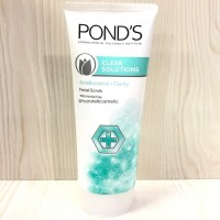 PONDS CLEAR SOLUTION ANTI BACTERIAL FACIAL SCRUB 100 GR