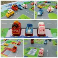 Maps Mainan Jalanan Mobil Robo Car Poli