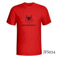 JFS024 KAOS FILM BIOSKOP SPIDERMAN HOMECOMING TERBARU TERLENGKAP