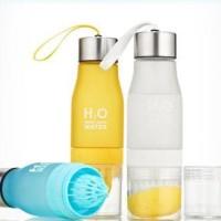 distibutor Botol H2O Infused water bottle (dengan alat perasan jeruk)