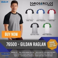 Gildan Raglan Kaos Polos Original Satuan Grosiran Murah Jakarta!!!....