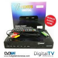 Jual SET TOP BOX TV Digital DVBT2 Venus Versi Terbaru Garansi Resmi 1 Tahun Murah