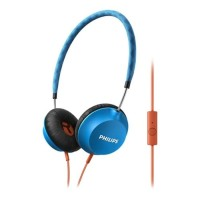Philips Headphone with MIC SHL 5105/BL - Blue