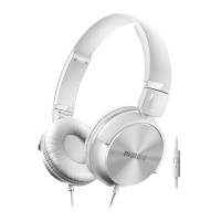 Philips Headphone WITH MIC SHL 3065 WT - White