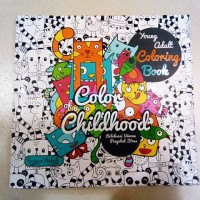 Jual Young adult Coloring Booking : COLOR CHILDHOOD Murah