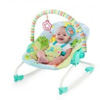 Bright Starts Snuggle Jungle Rocker / Bouncer / Ayunan Limited