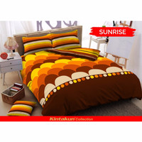 Set Bed Cover King Kintakun Santika Deluxe Desain Terbaru/High Quality