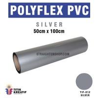 Polyflex PVC Korea  Silver  murah