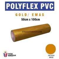 Polyflex PVC Korea Gold Emas  murah