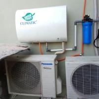 Water heater / Pemanas air Climatic dengan Outdoor AC - 40L Slim