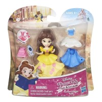 HASBRO Disney Princess Little Kingdom Fashion Change Belle Doll