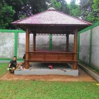 NEW Gazebo kayu kelapa