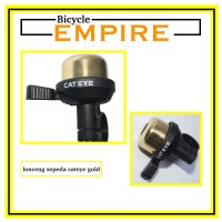 Bel Sepeda Cycling Bell Lonceng Sepeda Cateye Gold Bicycle Empire