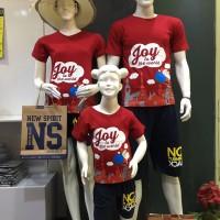Jual Baju Natal Anak size lengkap mulai baby - Santa Italy joy to the world Murah