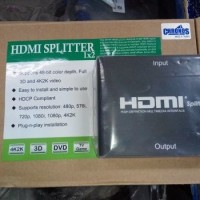 Jual Chronos Hdmi Splitter 2 Port for Bluray HD Player Murah Murah