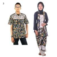 Jual Couple Batik Sarimbit Setelan Kutubaru Rok Lilit wulan Murah