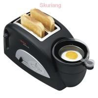 Terlaris Sale Tefal Toast N' Egg TT550065 Toaster - 2 Slice