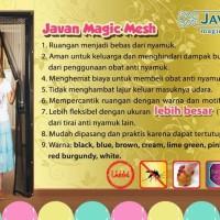 JVN Tirai Anti Nyamuk Magnet