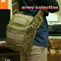 Jual TERLARIS!! TAS Selempang Cowok Import ARMY 803 Murah