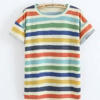 Baju atasan bunny wanita kaos shirt distro fashion wanita pakaian