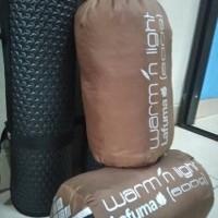 Jual PAKET OUTDOOR Sleeping Bag Polar Lafuma dan Matras Camping 4mm Murah