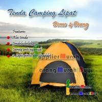 Jual Tenda Camping kemping dome Lipat 4 orang dengan alas tenda Murah