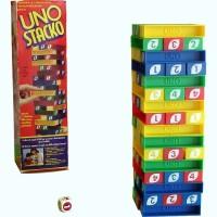 Jual Permainan menyusun balok-balok UNO Stacko Murah