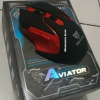 Jual mouse gaming rexus wireless RXM-S5 aviator   Murah