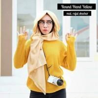 Jual Sweater Round Hand Sweater Yellow Murah Murah