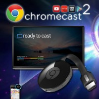 Google Chromecast 2 Wireless WiFi HDMI Display Receiver Dongle Android