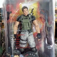 Player Select CAPCOM Chris Redfield RESIDENT EVIL 5 NECA Moveable