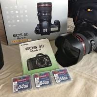 Jual Canon Eos 5d Mark lll Kit (24-105 F4l Is) Fullset. Murah