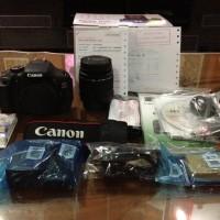 Jual KAMERA DSLR CANON EOS 600D kit 18-135MM. Murah
